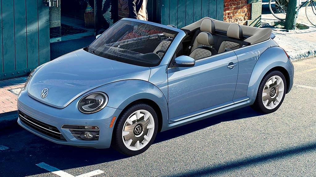 Кабриолет Volkswagen Beetle Final Edition
