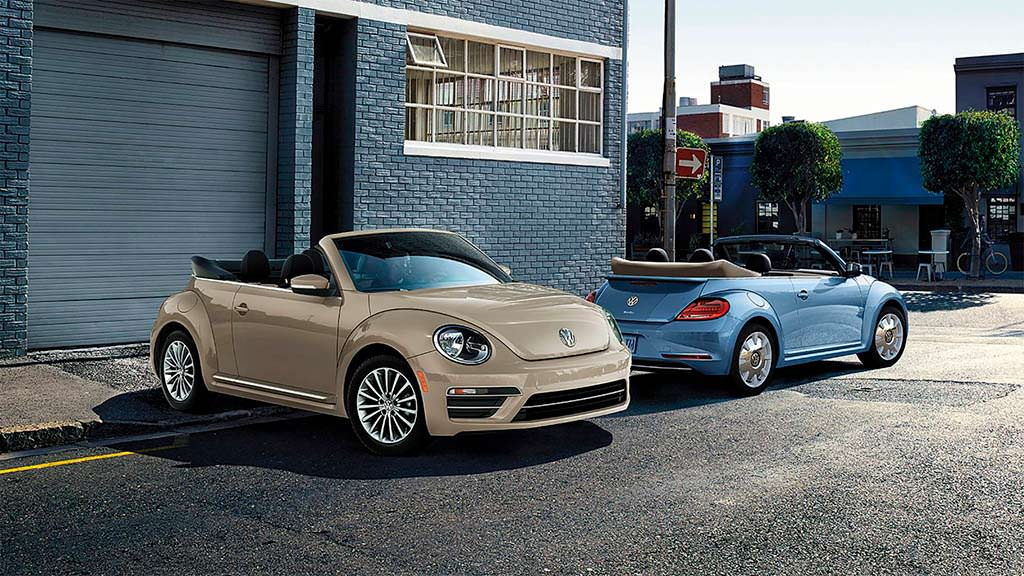 Прощальный Volkswagen Beetle Final Edition 2019