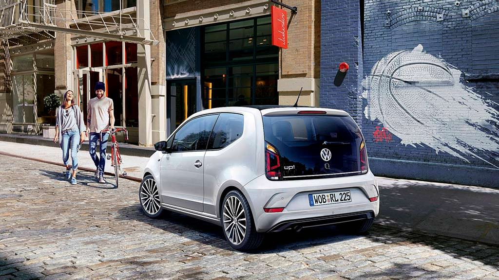 Новый Volkswagen Up! R-Line