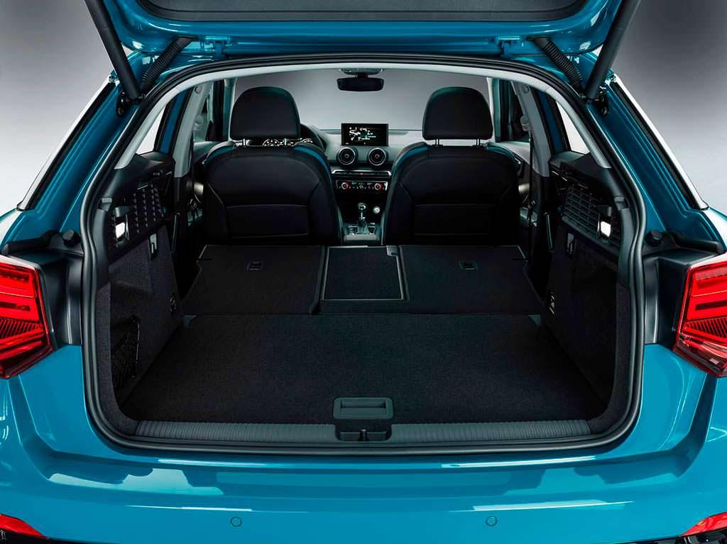 Конфигурация багажника Audi Q2 L