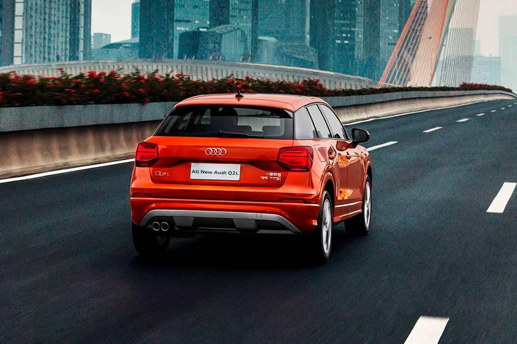 Удлиненная Audi Q2 L специально для Китая