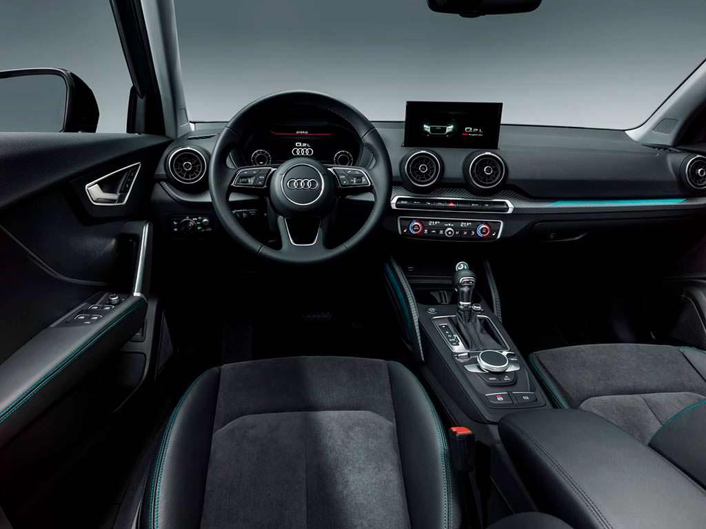 Фото салона Audi Q2 L для Китая