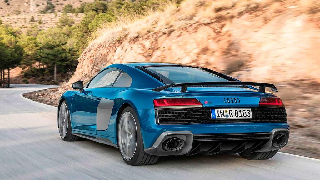 Рестайлинг Audi R8 V10 2019 модельного года