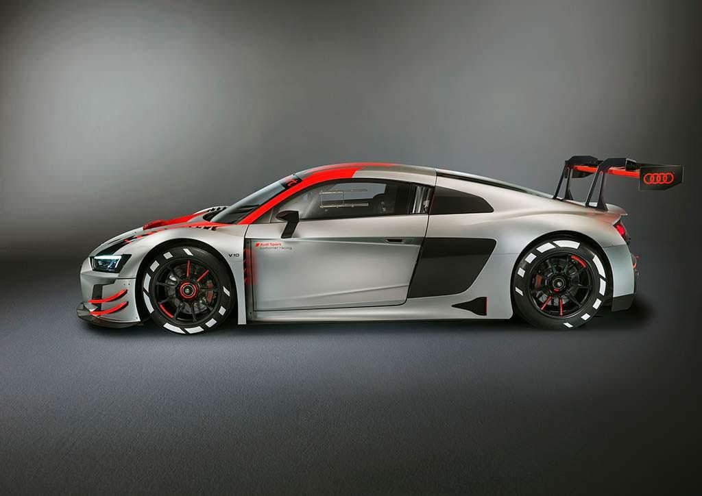 Гоночная Audi R8 LMS GT3