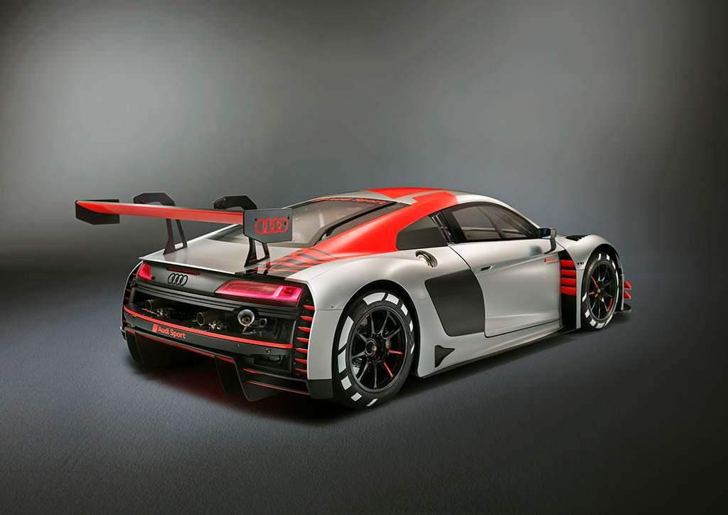 Audi R8 LMS GT3 рестайлинг