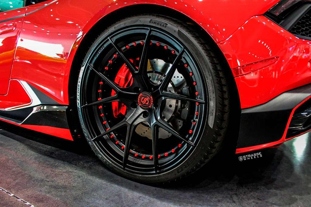 Двухкомпонентные колеса Strasse SM5R Deep Concave Doublock