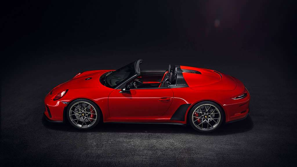 Классический Porsche 911 Speedster 2018