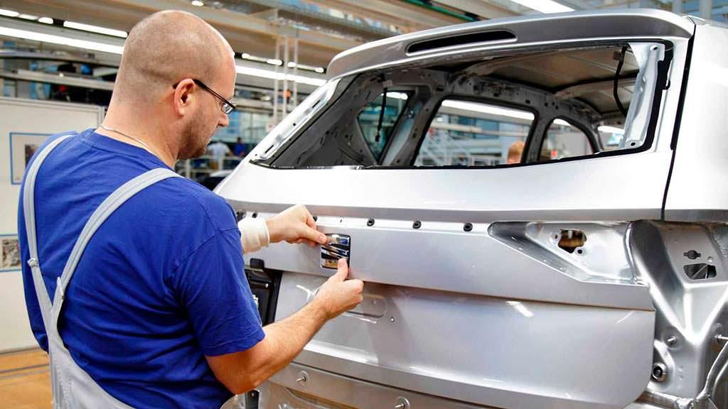 Конвейер SEAT Tarraco на заводе VW в Германии