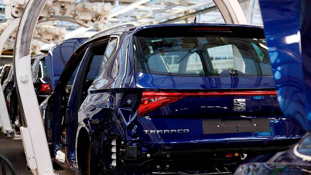 Сборка SEAT Tarraco на заводе Volkswagen в Вольфсбурге