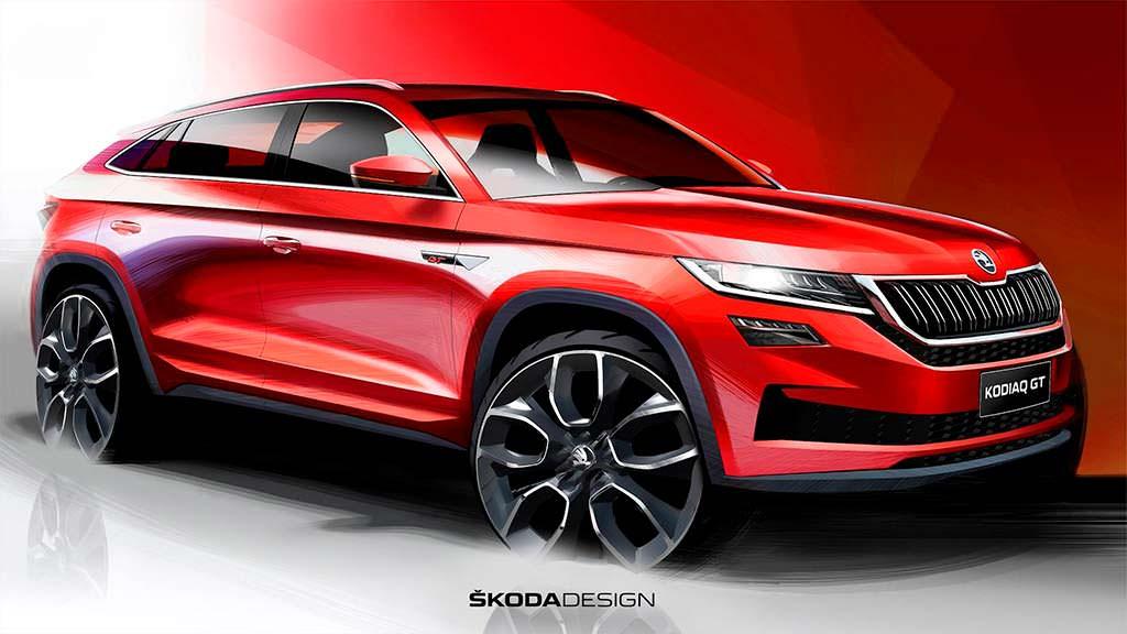 Skoda Kodiaq GT - купе-кроссовер для Китая