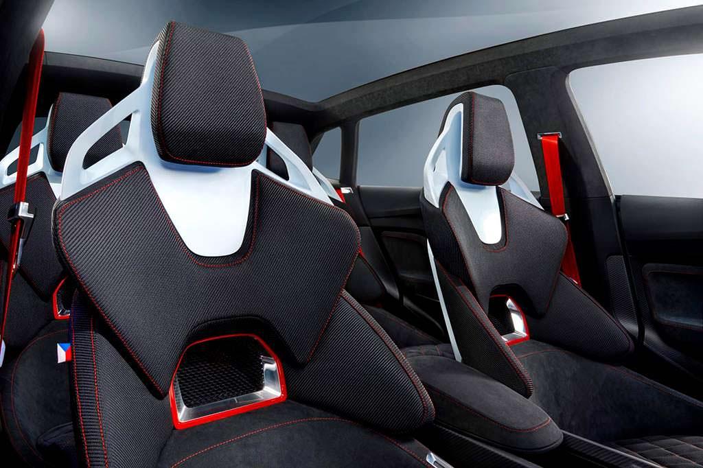 Спортивные сиденья Skoda Vision RS