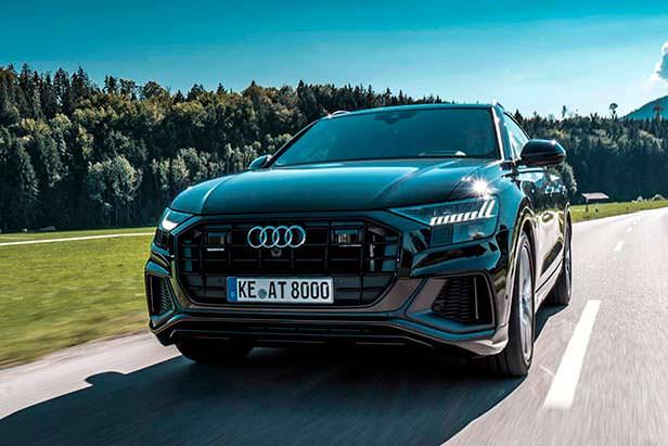 Кроссовер Audi Q8. Тюнинг ABT Sportsline