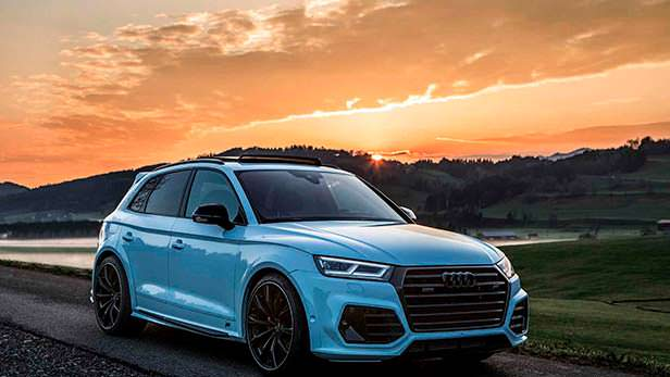 Audi SQ5. Тюнинг от ABT Sportsline для SEMA 2018