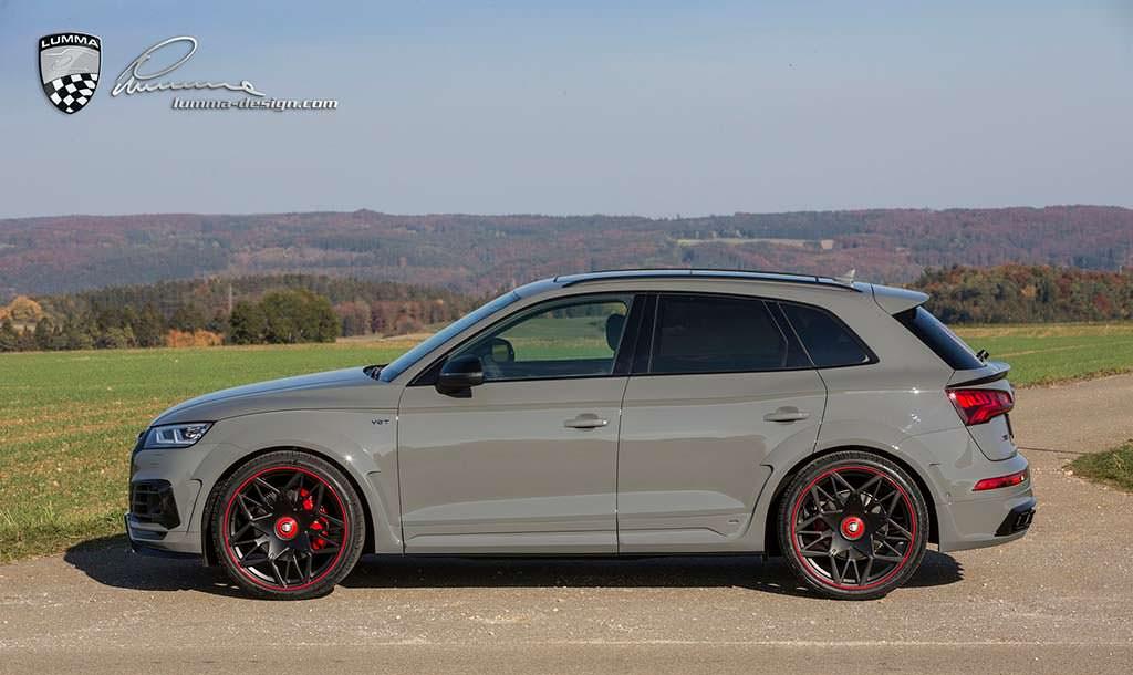 Audi SQ5 в обвесе CLR 5S от Lumma Design