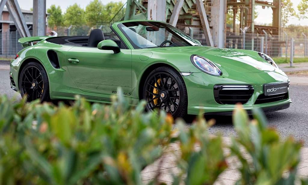 Porsche 911 Turbo S Cabriolet. Тюнинг Edo Competition