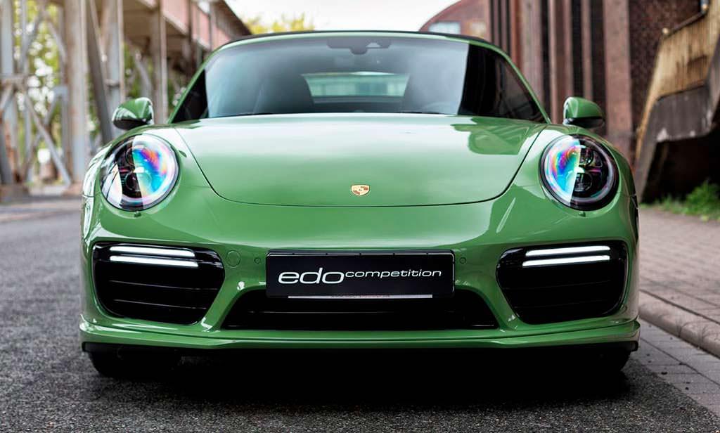 Porsche 911 Turbo S Cabriolet от Edo. Мощность 665 л.с.