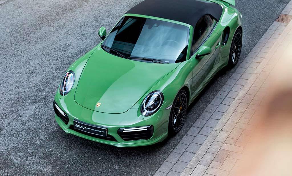 Porsche 911 Turbo S Cabriolet от Edo. Скорость 350 км/ч