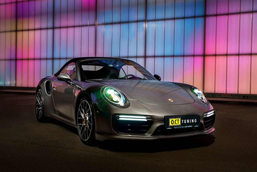 Кабриолет Porsche 911 Turbo S. Тюнинг от O.CT