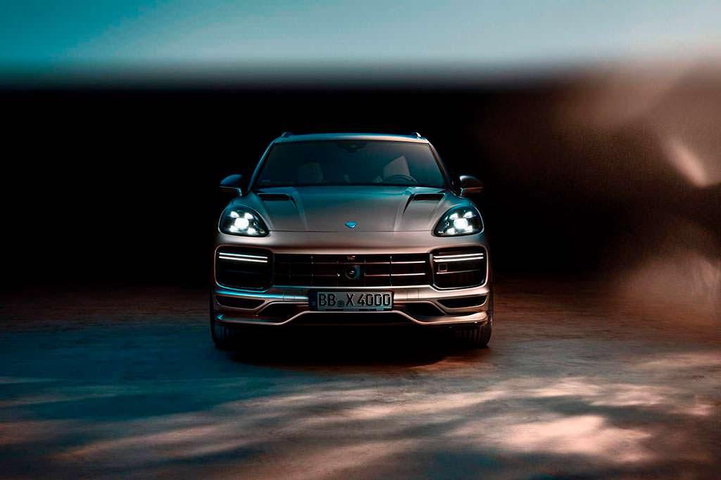 Тюнинг Porsche Cayenne Turbo третьего поколения от TechArt