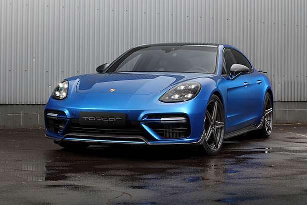 Porsche Panamera. Карбоновый обвес GT Edition от TopCar