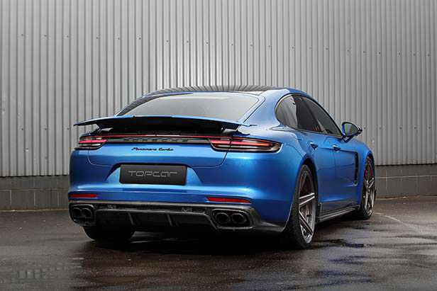 Новый тюнинг Porsche Panamera GT Edition от TopCar