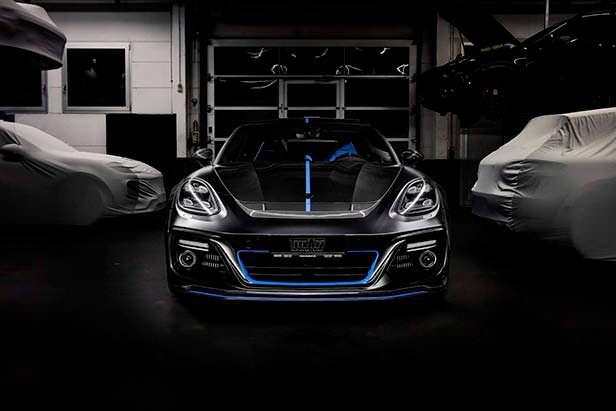 Porsche Panamera Sport Turismo. Тюнинг от TechArt