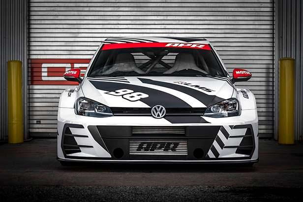 Гоночный Volkswagen Golf RLMS. Тюнинг от APR