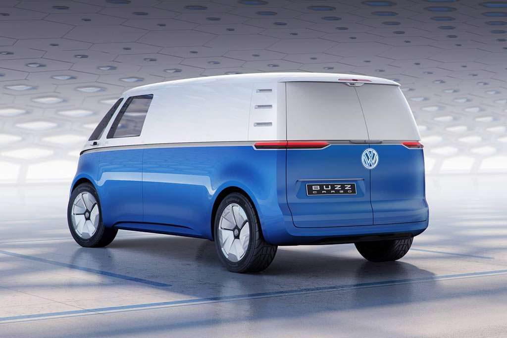 Электрический фургон Volkswagen Buzz Cargo Concept