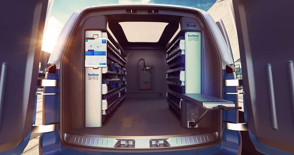 Автоматизированный грузовой отсек VW Buzz Cargo Concept