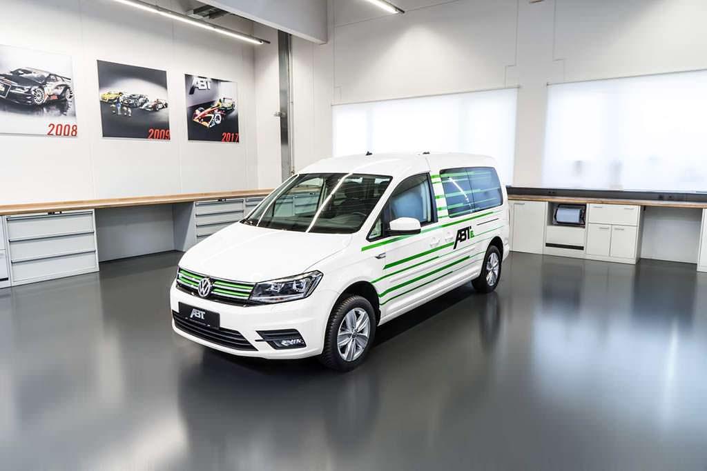 Электромобиль Volkswagen e-Caddy от ABT Sportsline