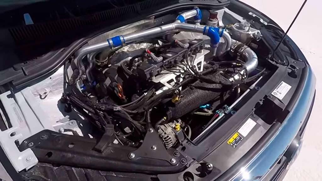 Двигатель Volkswagen Jetta 2.0 TSI, мощность 550 л.с.