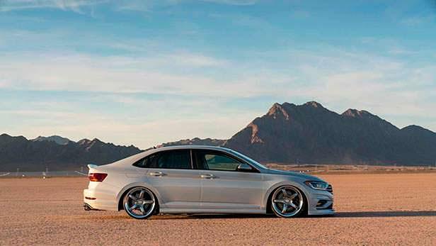 Заниженная Volkswagen Jetta S. Тюнинг от Джейми Орра