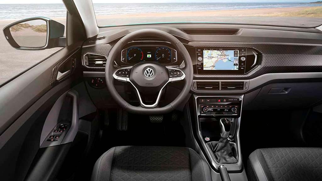 Фото внутри Volkswagen T-Cross
