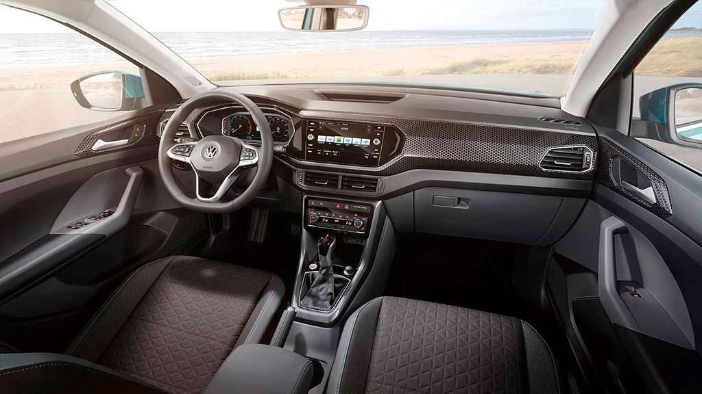 Фото салона Volkswagen T-Cross