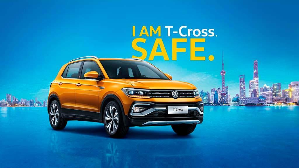 Компактный кроссовер Volkswagen T-Cross для Китая