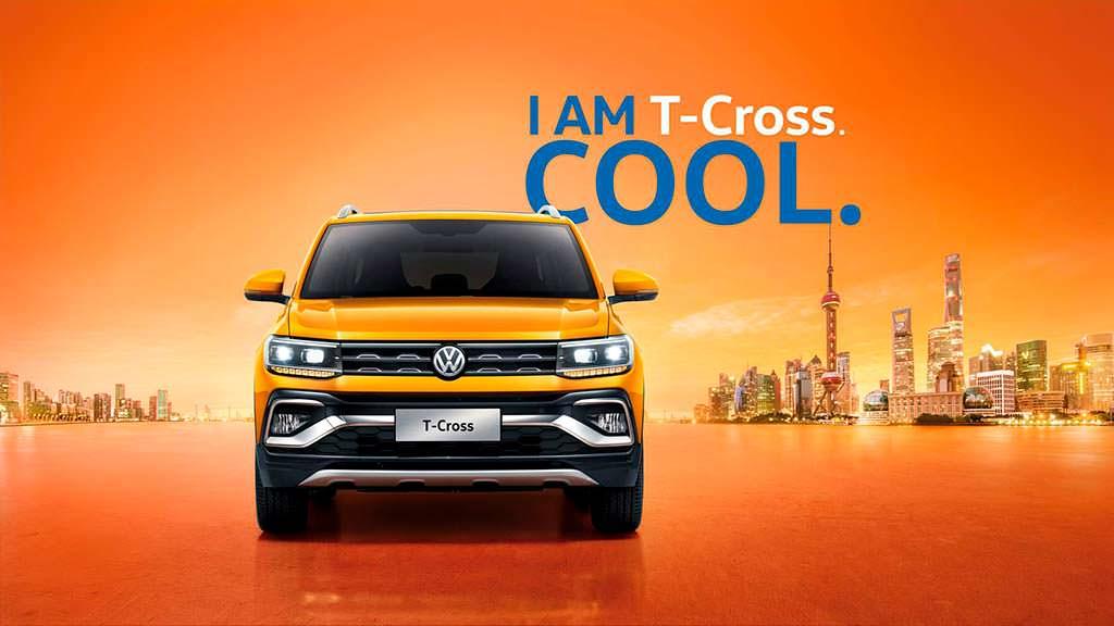 Компактный кроссовер Volkswagen T-Cross для рынка Китая