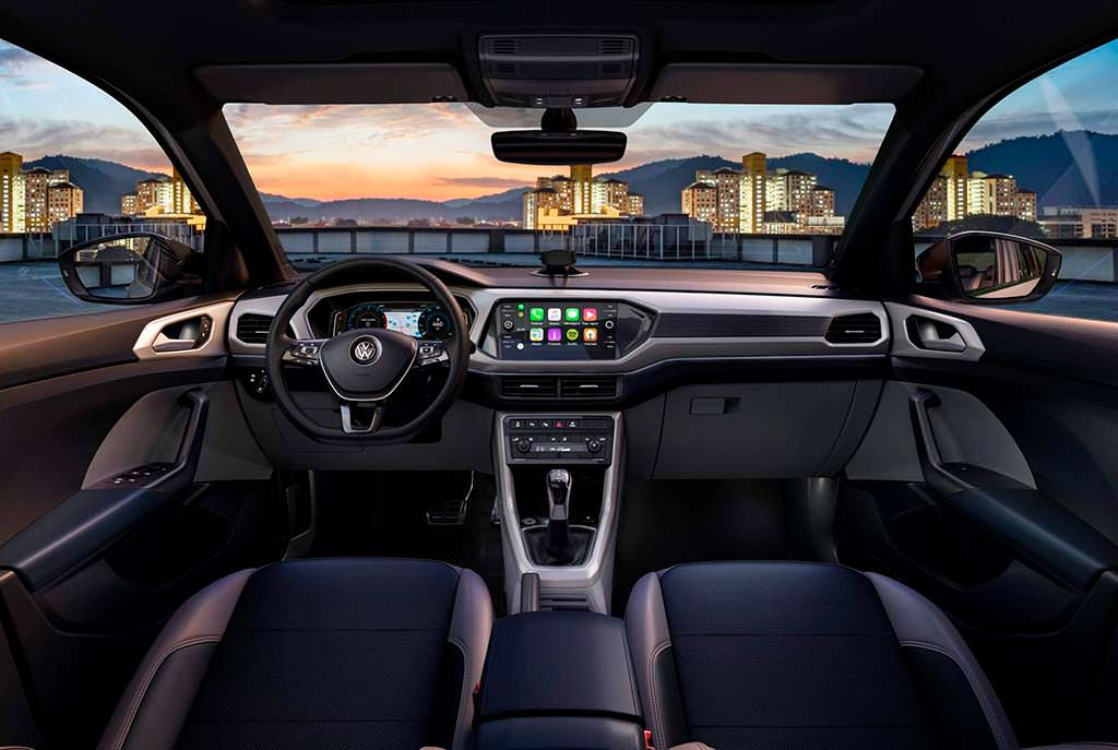Интерьер Volkswagen T-Cross для Латинской Америки