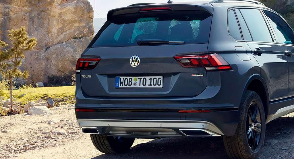 Кроссовер для бездорожья Volkswagen Tiguan Offroad