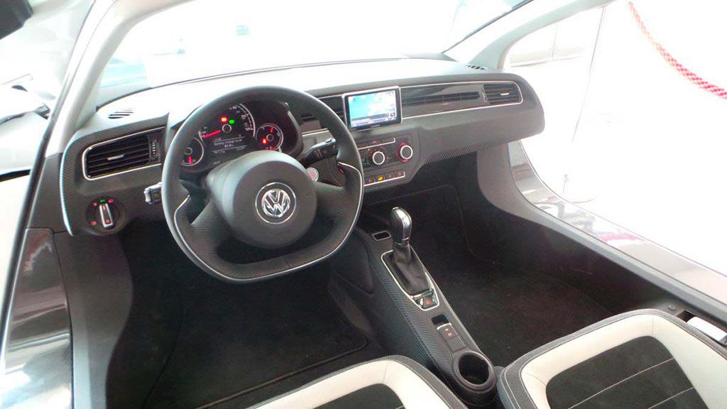 Спартанский салон Volkswagen XL1