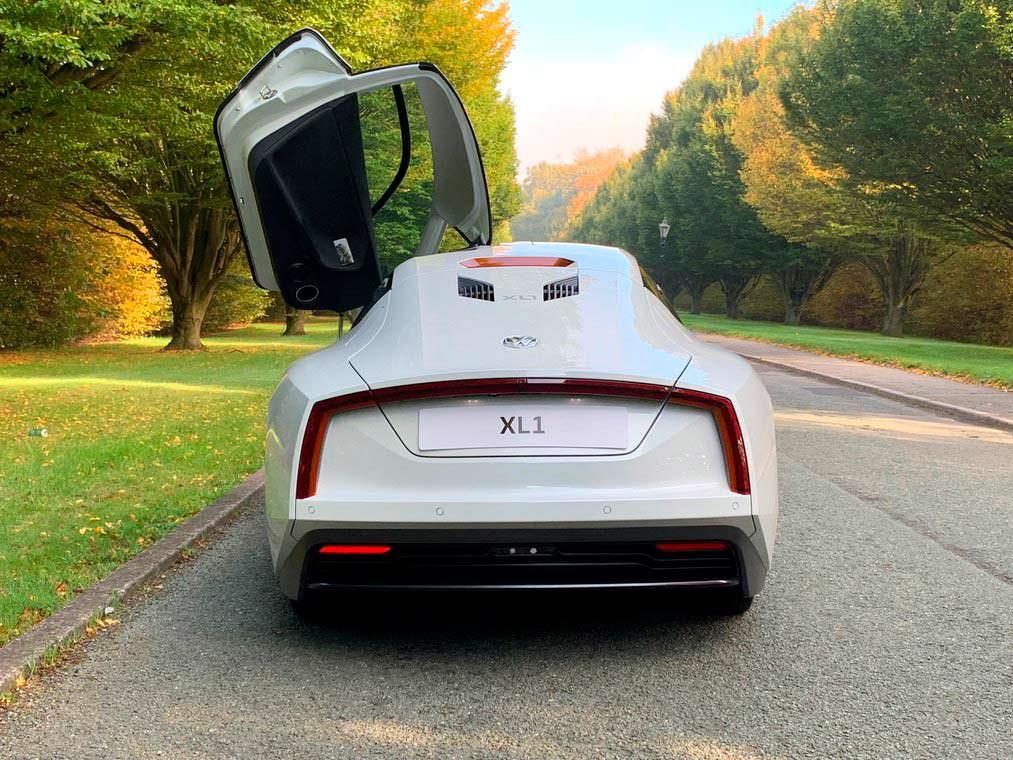 Volkswagen XL1: расход топлива 0,9-литра на 100 км