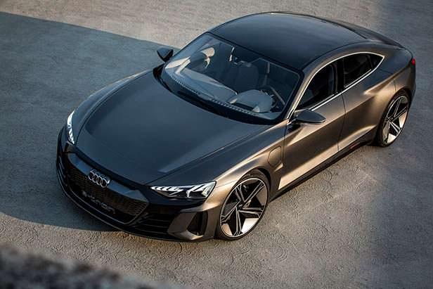 Электрокар Audi e-tron GT Concept