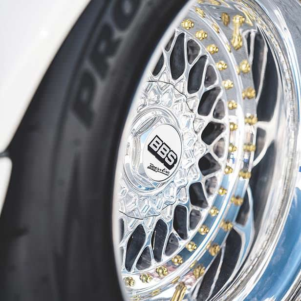 Колеса BBS на классической Porsche 911. Тюнинг Toyo