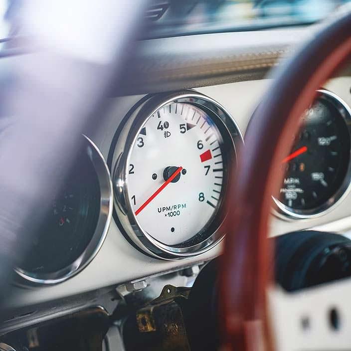 Классическая Porsche 911. Тюнинг Toyo