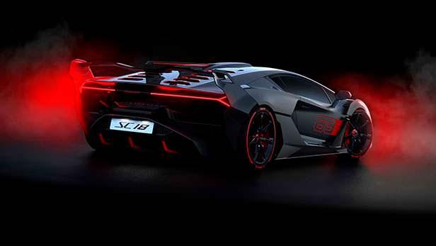 Гиперкар Lamborghini SC18 на базе Aventador S