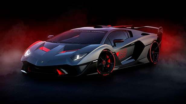 Единственный Lamborghini SC18 на базе Aventador S