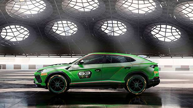 Супер-кроссовер Lamborghini Urus ST-X Concept для гонок