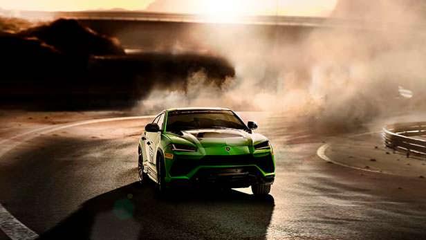 Lamborghini Urus ST-X Concept для гонок