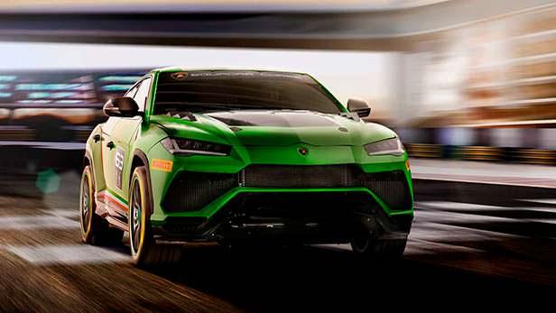 Гоночный кроссовер Lamborghini Urus ST-X Concept