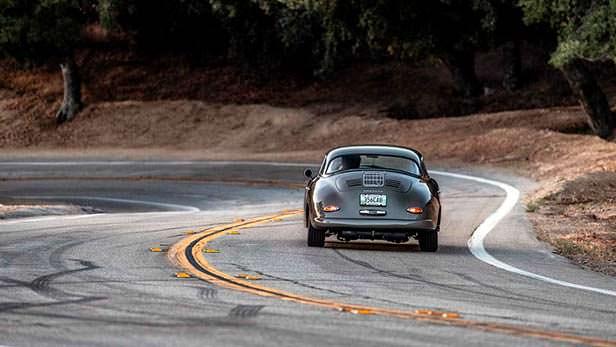 Классическая Porsche 356B Cabriolet 1960 года выпуска