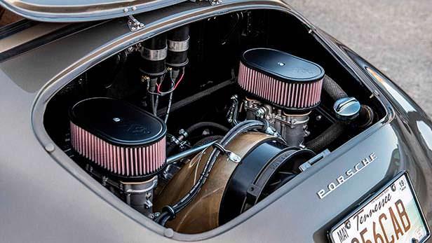 Двигатель Outlaw-4 под капотом Porsche 356B Cabriolet